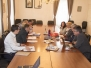 Delovni sestanek z Direkcijo RS za infrastrukturo - gen.direktor Damir Topolko z ekipo, 11. 5. 2017