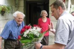 Obisk 90-letnika g.Kampuš Janez, Cesta za gradom 14, Radeče