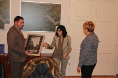 Obisk delegacije iz Velike Plane, Srbija; 20. - 22. januarja 2012