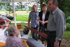 Obisk delegacije ob 90. letnici go. Marije Makuc, 8. 7. 2014