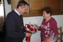 Obisk delegacije pri go. Angeli Selevšek, 16. 4. 2019