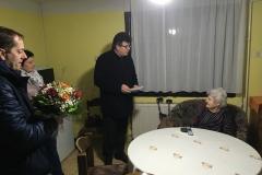 Obisk delegacije pri go. Mariji Martinšek, 27. 11. 2018