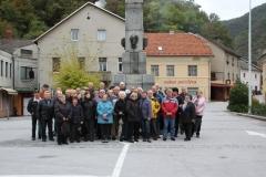 Obisk delegacije ZZB NOV iz Miklavža in Dobravcev, 11. 10. 2016