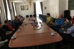 Obisk deskarja Roka Marguča v Radečah, 18. 4. 2018