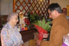 Obisk ekipe pri ge. Faniki Rodič, 7. oktober 2011
