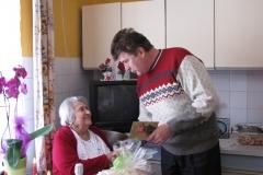 Obisk ekipe pri ge. Julijani Žibret, 9. februarja 2012