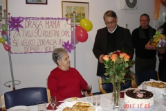 Obisk ekipe pri ge. Mariji Hafnar, 23. november 2011