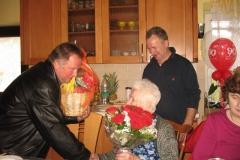 Obisk ekipe pri ge. Mariji Kmetič, 24. aprila 2012