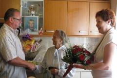 Obisk ekipe pri ge. Mariji Titovšek, 16. september 2011
