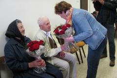 Obisk ekipe pri ge. Zofiji Kenda in g. Cirilu Zabukovec, 25. 4. 2012