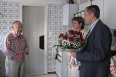 Obisk pri 90-letniku g. Dominiku Blaju, Titova ul. 78, ki je 23. 9. 2015, praznoval 90. Rojstni dan