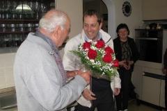 Obisk pri g. Adolfu Simončiču, ki je 16. 4. 2017 praznoval 90. rojstni dan