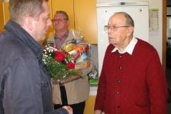 Obisk pri g. Jožetu Strniša, ki je 19. 3. 2017 praznoval 90. rojstni dan