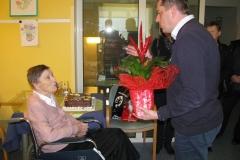 Obisk pri ge. Justini Zahrastnik, Jagnjenica 35, ki je 4. 3. 2016 praznovala 90. Rojstni dan