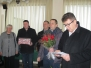 Obisk pri ge. Mariji Podlesnik iz Zagrada, ki je 1.1.2016, praznovala 90. rojstni dan