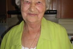 Obisk pri go. Mariji Novšak, ki je 29. 8. 2016 praznovala 90. rojstni dan