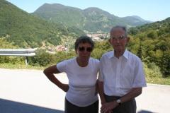 Obisk župana z ekipo pri g. Avguštinu Hrupu, 18. avgust 2011