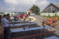 Otvoritev obnovljene j. poti na odseku Žebnik - Bec z druženjem na Korbarjevem klancu, 13. 9. 2016