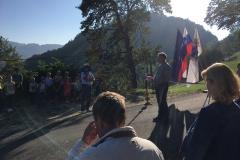Otvoritev rekonstruiranega odseka JP Zajec - Klenovšek Vetrni vrh, 9. 9. 2020