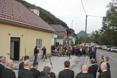 """Otvoritev Stare šole z interpretacijskim centrom . projekt """"Stara šola za nove ideje"""", 18.9.2019"""