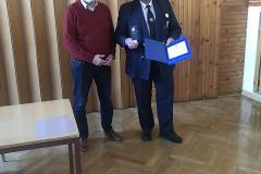 Podelitev srebrnega znaka AVP RS g. Stanislavu Zajec, 24. 3. 2021