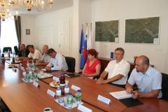 Podpis pogodbe za gradnjo vrtca Čira Čara, 22. avgust 2011