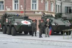 Prikaz opreme in dejavnosti Slovenske vojske, 22. september 2011
