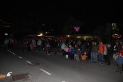 Prižig lučk na smreki, 1. 12. 2012