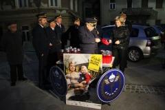 Prižig sveč za žrtve prometnih nesreč, 17. 11. 2012