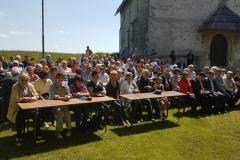 Proslava ob spominu na vojno (1941 - 1945) na Brunku, 21. 5. 2016