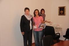 Sprejem dobitnikov kolajn v speed badmintonu po EP v Varšavi, 19.9.2014