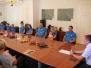 Sprejem Krosminton kluba Radeče pri županu, 29.8.2017