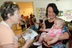 Sprejem novorojencev - II. del, 2. 7. 2013