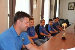 Sprejem prvakov lige MNZ Celje (U13) NK Radeče, 2.7.2014