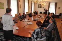 Sprejem veleposlanika Republike Češke pri županji Občine Radeče, 5. 9. 2014