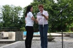 Srečanje radeških mažoret z županjo, 8. junija 2012
