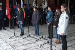 Žalna slovesnost ob dnevu spomina na mrtve, 25.10.2014