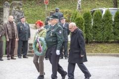 Žalna slovesnost ob dnevu spomina na mrtve, 27. 10. 2016