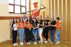 Župan sprejel mažorete Kluba mažorete RAP Radeče, 20. 5. 2016